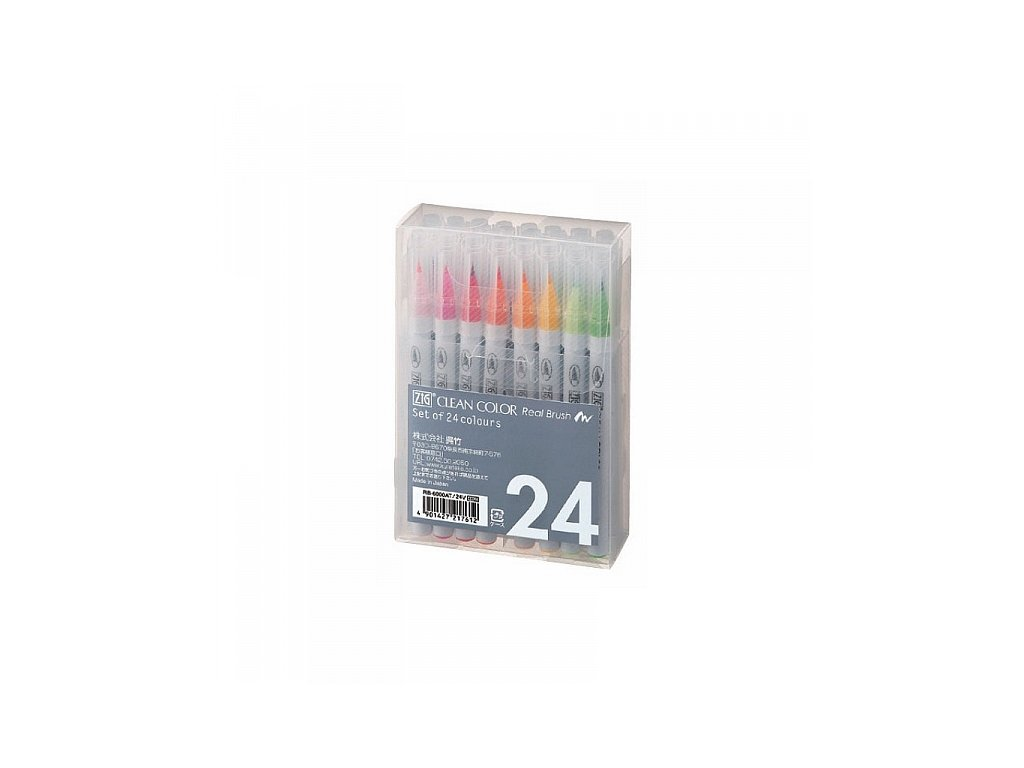 Clean Color Real Brush - sada 24 ks