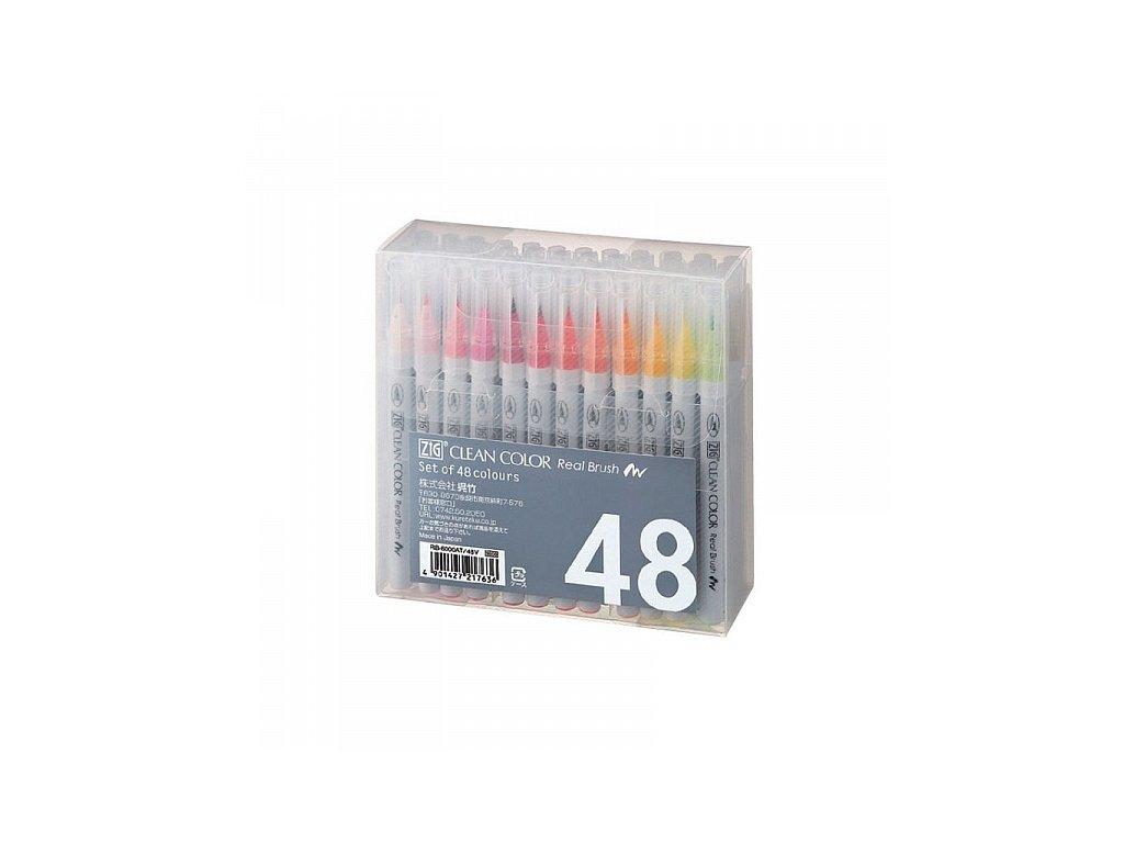 Clean Color Real Brush - sada 48 ks