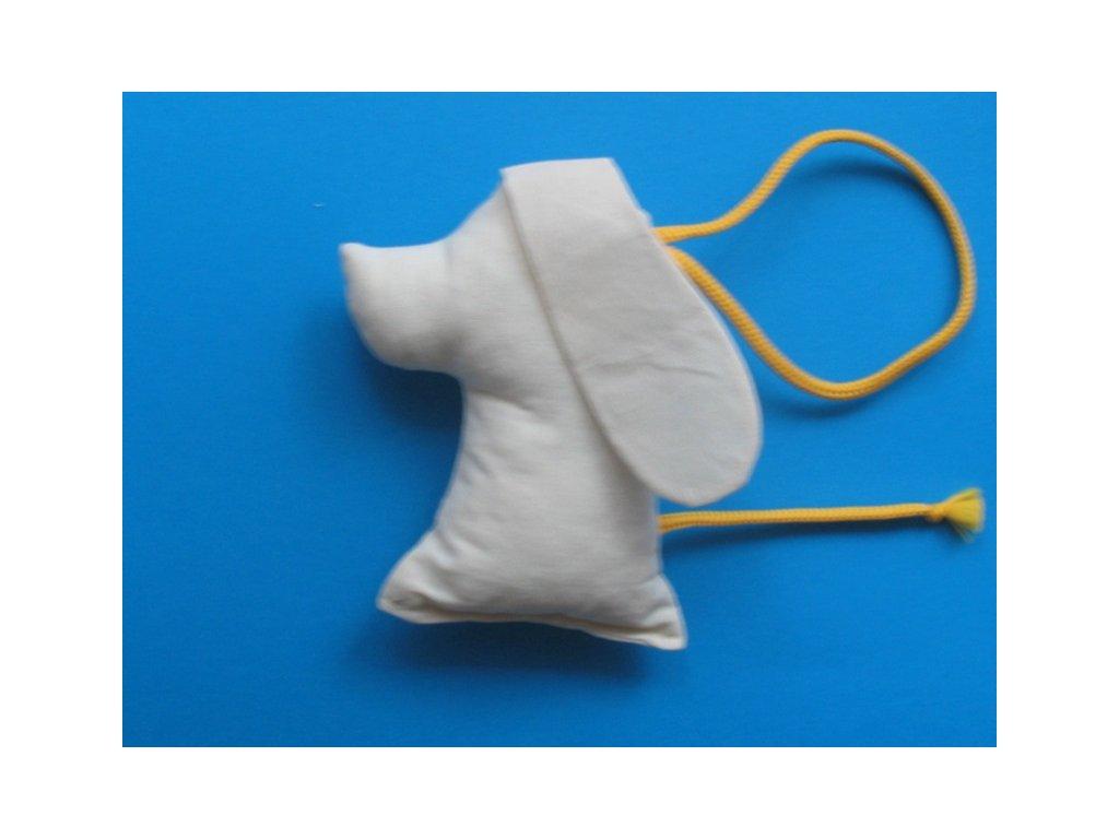 bavlněná hračka - pes