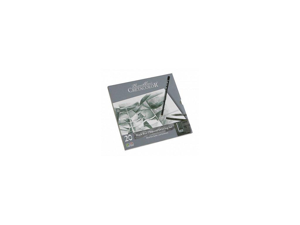 Cretacolor BlackBox sada (20 ks)