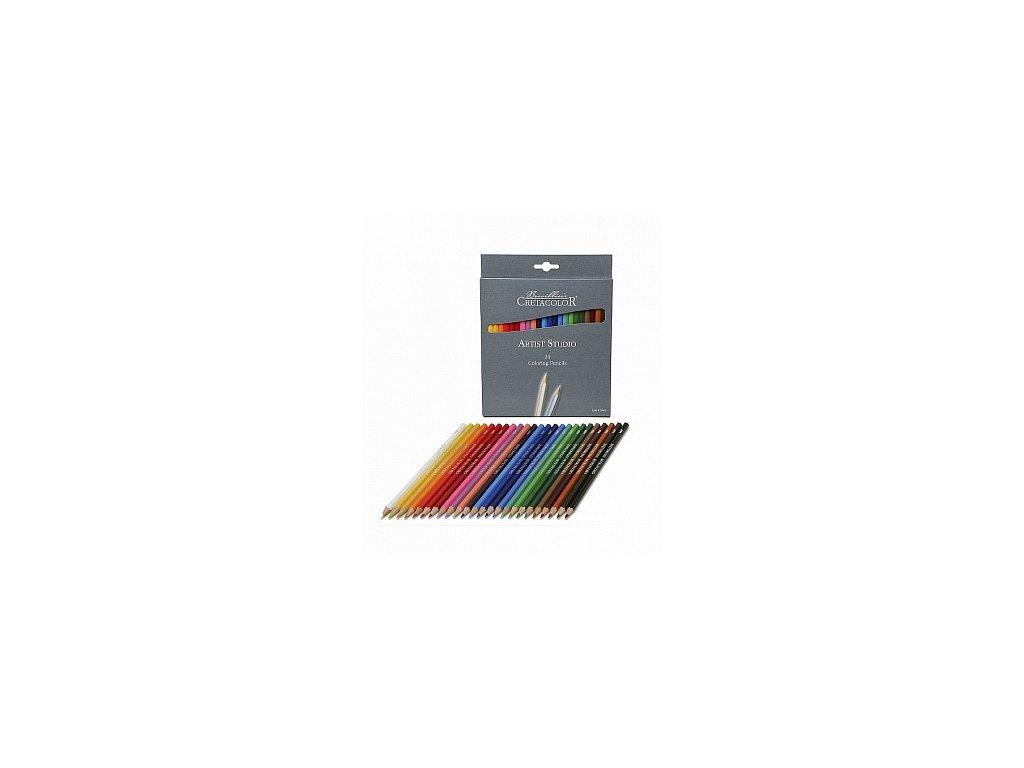 Sada barevných tužek Artist Studio, 24 ks
