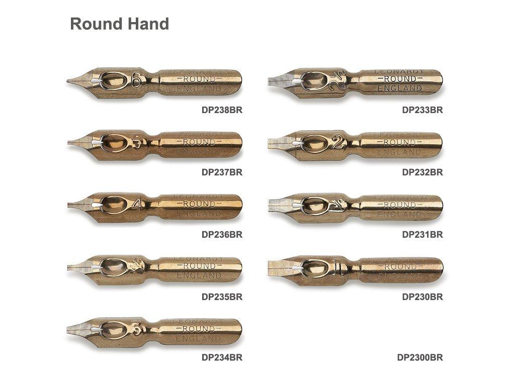 Round Hand vzornik