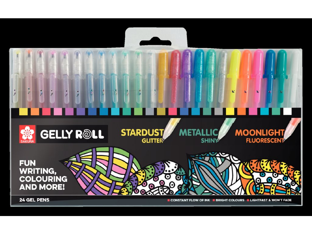 gelly roll mixed