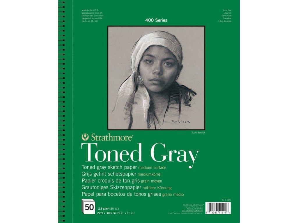 toned grey