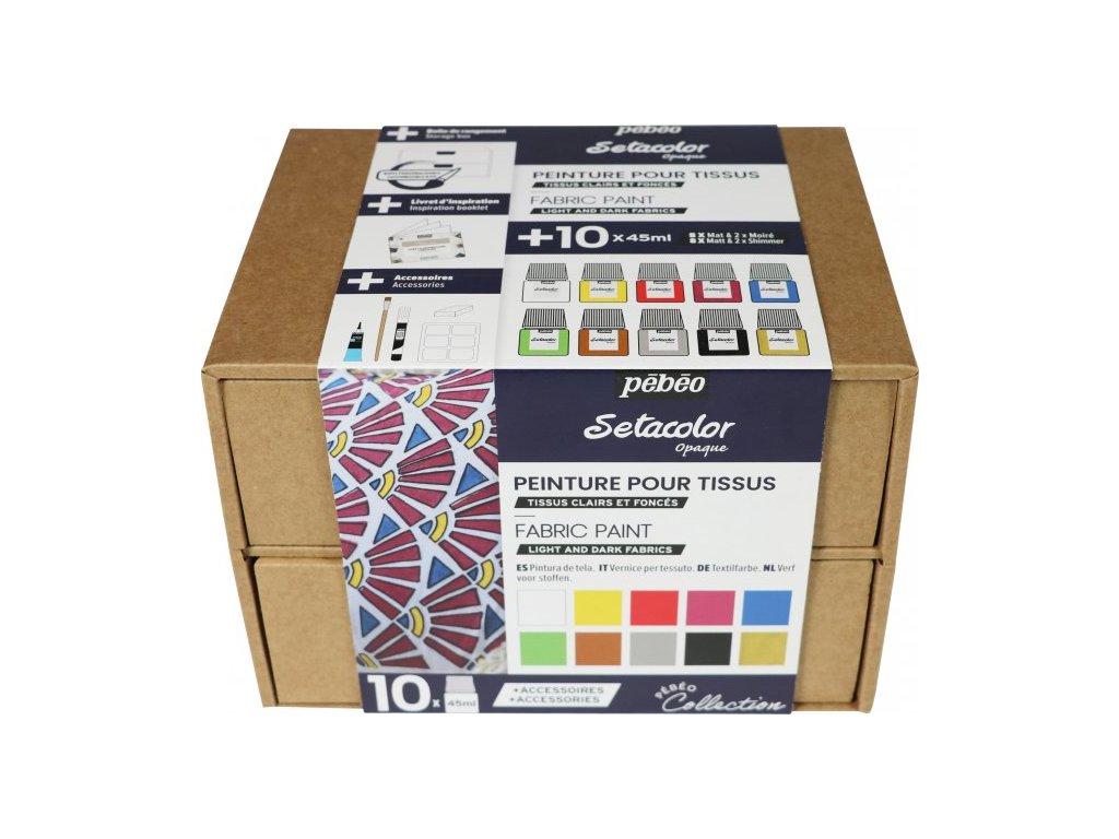 Setacolor kufřík 10x45 ml
