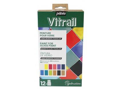 Sada Discovery Vitrail, 12 x 20 ml