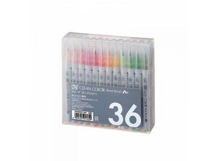 Clean Color Real Brush - sada 36 ks