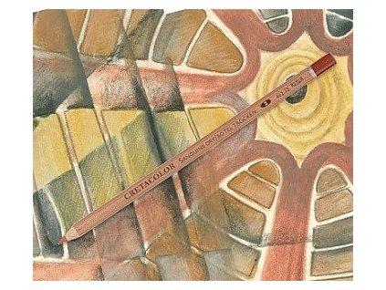 Umělecká rudka suchá v tužce SEPIA LIGHT - hnědá světlá