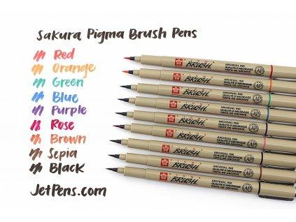 Pigma Brush - štětečkový hrot