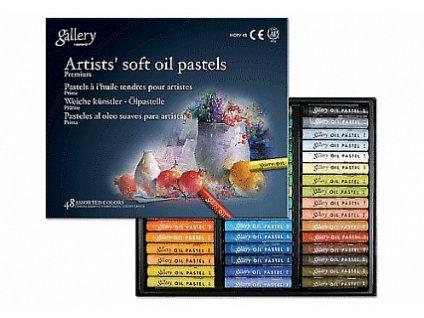 Sada olejových pastelů Gallery HQ