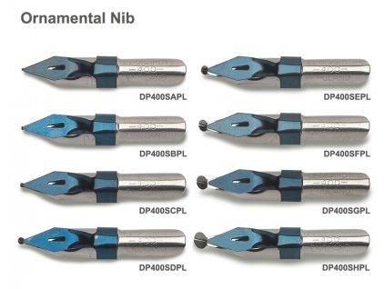 Ornamental Nib DP400 vzornik