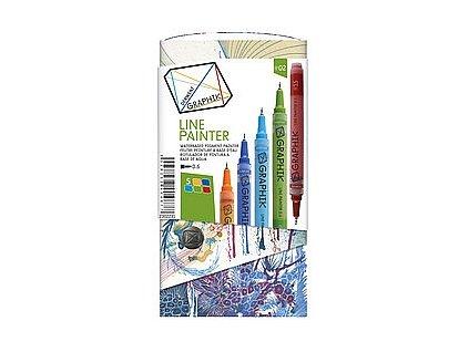 Graphik Line Painter Derwent - sada - paleta 2