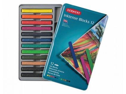 Inktense blocks - sada akvarelových bloků