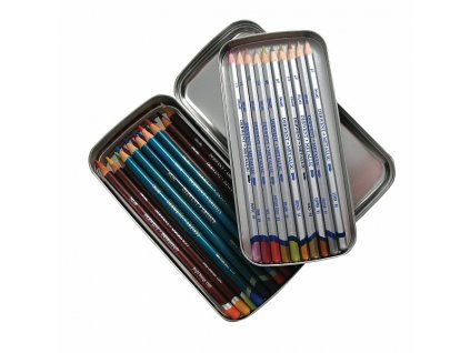 Pencil Tin - kovové pouzdro