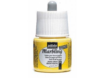 Marbling 45 ml - mramorovací barvy 9 odstínů
