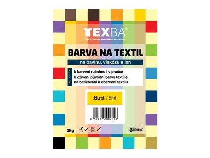 Texba - batikovací barvy - jednotlivě