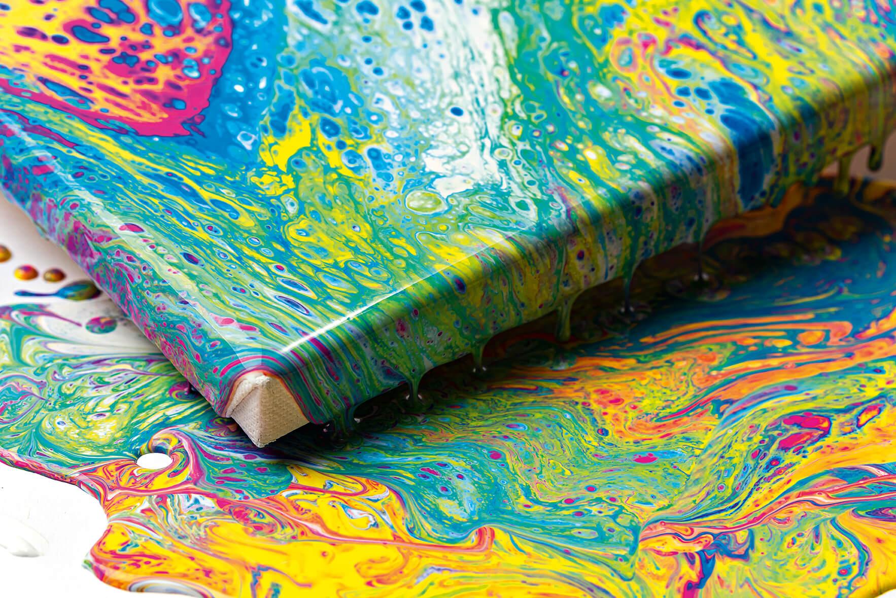 Jak na to: Pouring Acryl - Tekoucí akryl