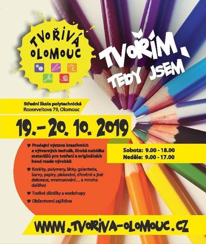 Účastníme se: Tvořivá Olomouc 19. - 20. 10. 2019