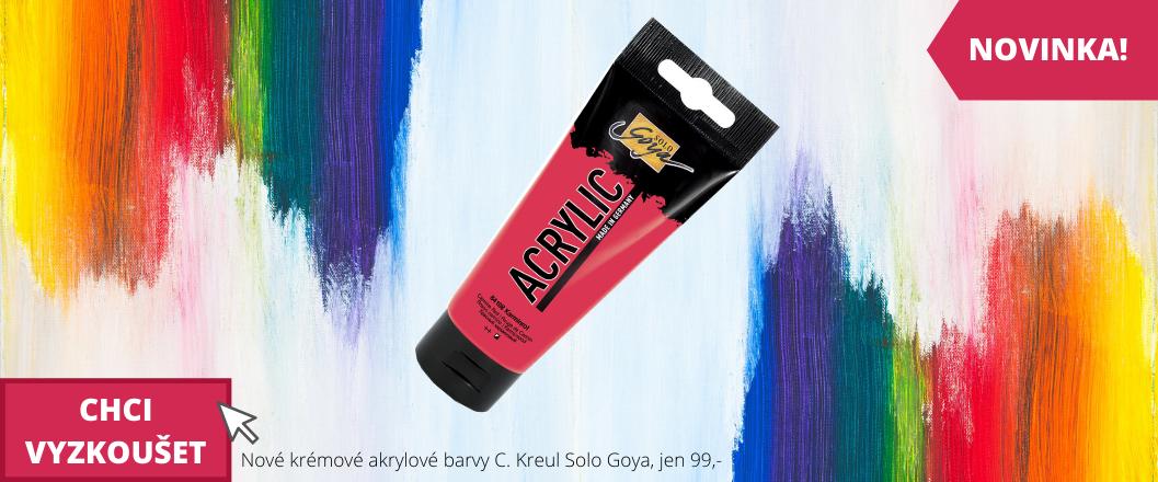 Akrylové barvy Solo Goya NOVINKA