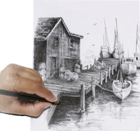 Kresba podle předlohy