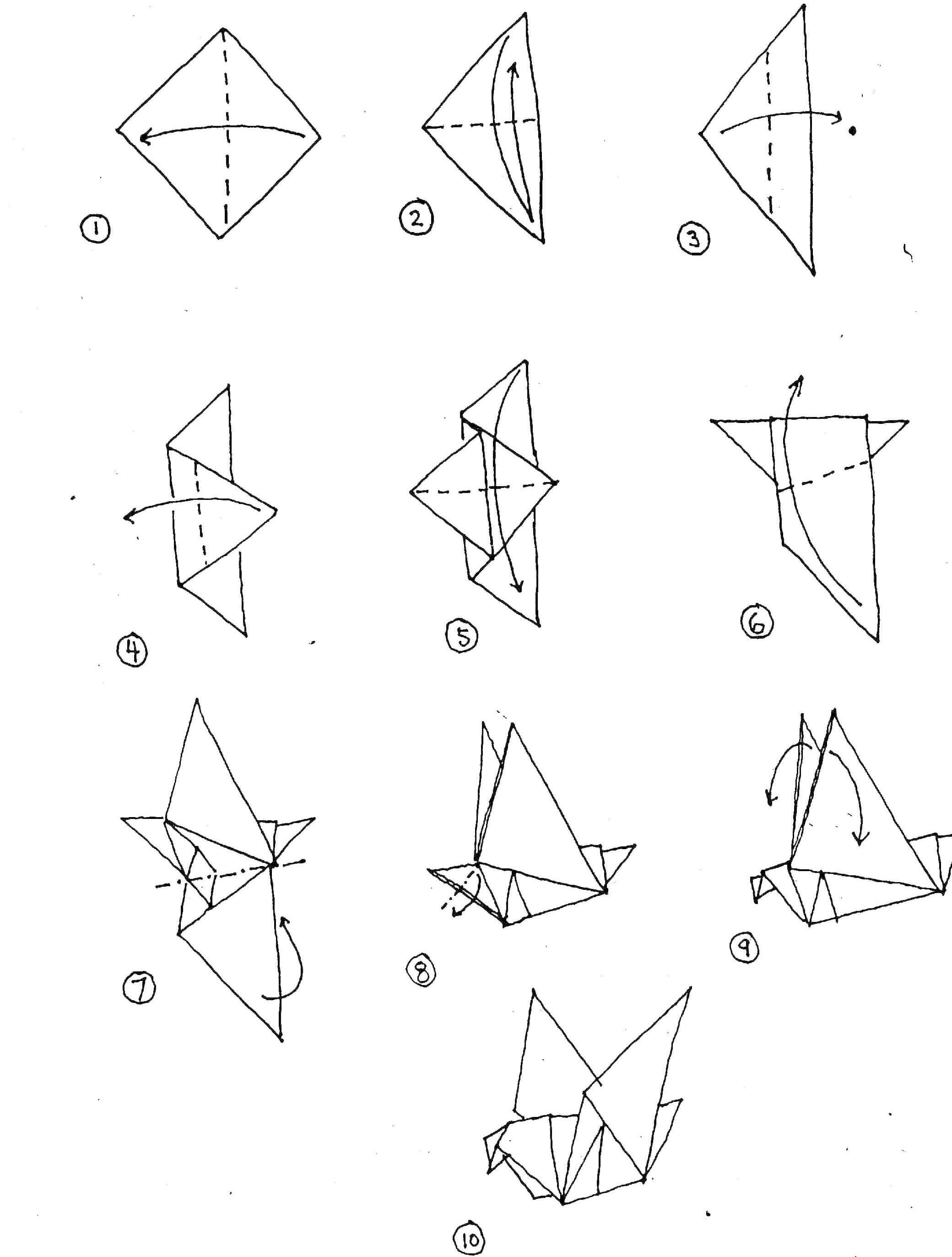 origami-ptak-diagram