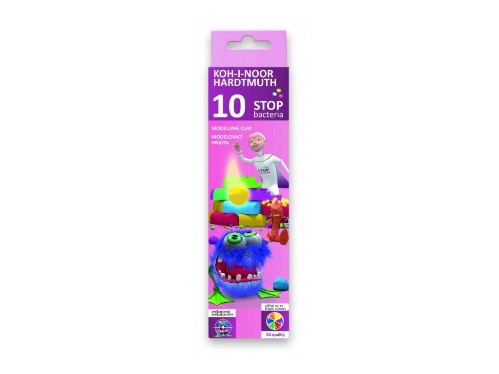 425 antibakterialni modelovaci hmota 200 g sada 10 barev