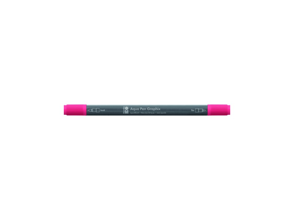 467 1 akvarelovy fix oboustranny aqua pen graphix cervena tresnova 031
