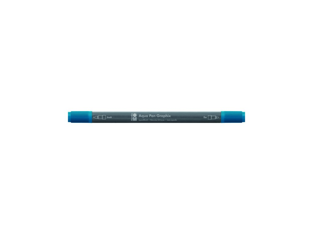 494 1 akvarelovy fix oboustranny aqua pen graphix petrolejova 092