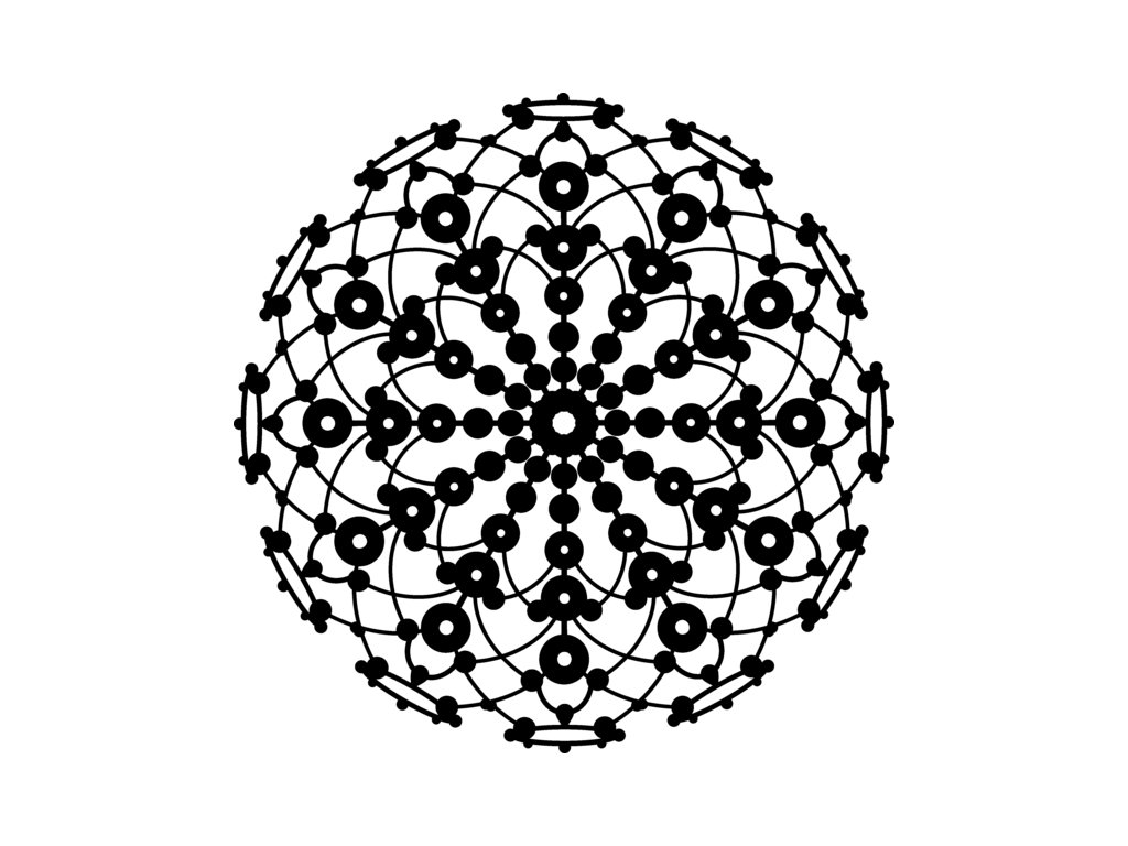 Šablona Marabu pro Fashion sprej 30x30cm - Lace Rosette