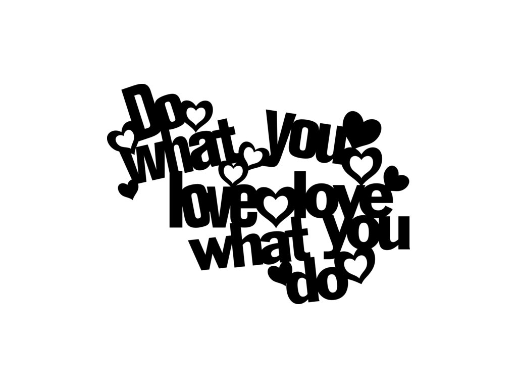 Šablona Marabu pro Fashion sprej 30x30cm - Do what you love DOPRODEJ