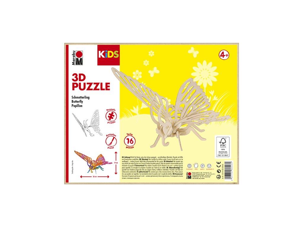 959 1 marabu mara 3d puzzle drevene motyl