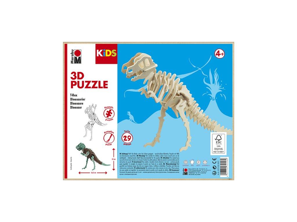 962 1 marabu mara 3d puzzle drevene dinosaurus