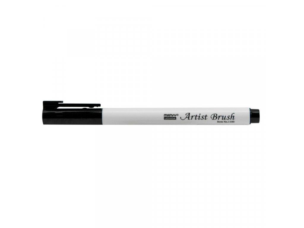 Umělecké fixy se štětcovým hrotem Artist Brush - 01 black
