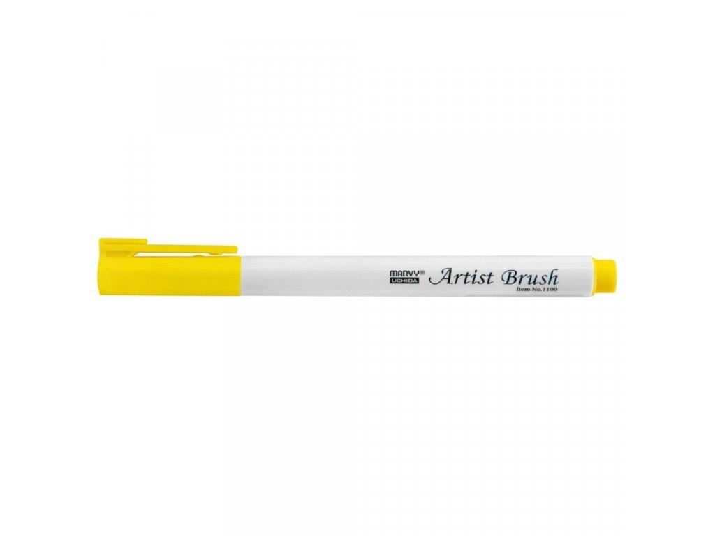 Artists brush marvy uchida 1100 lemon yellow