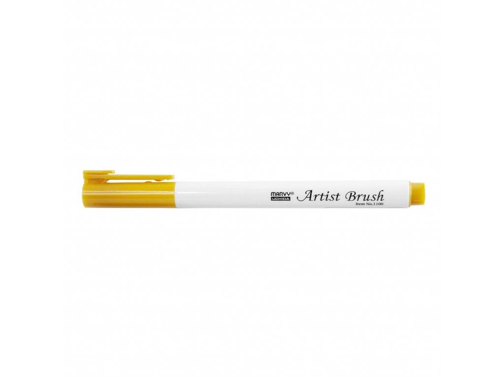 Umělecké fixy se štětcovým hrotem Artist Brush - 23 Gold Ochre