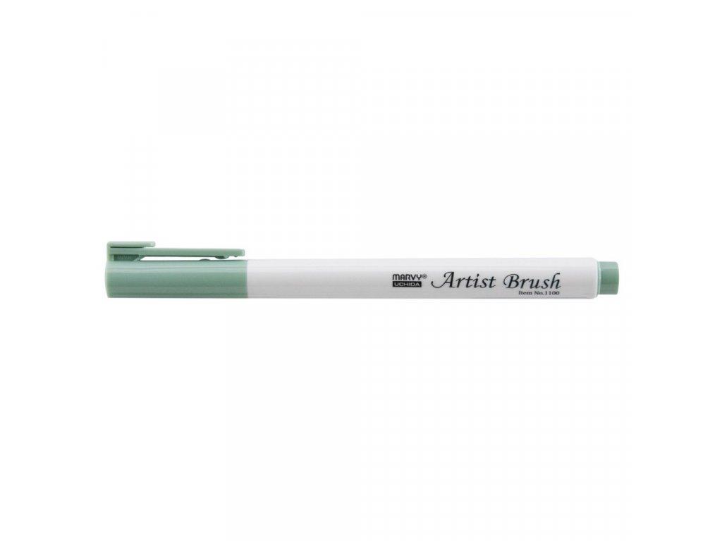 Artists brush marvy uchida 1100 laurel green
