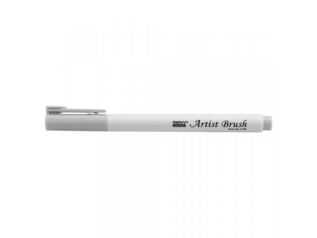 Artists brush marvy uchida 1100 light cool grey