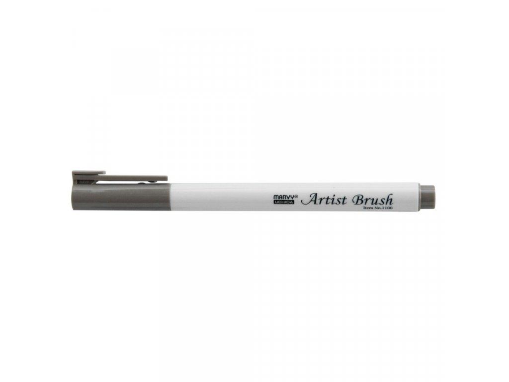 Umělecké fixy se štětcovým hrotem Artist Brush - 40 Brownish Grey