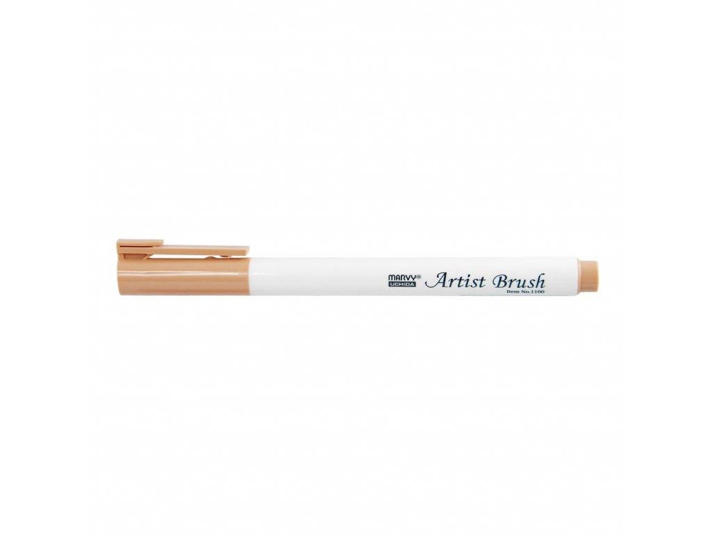 Umělecké fixy se štětcovým hrotem Artist Brush - 44 Light Brown