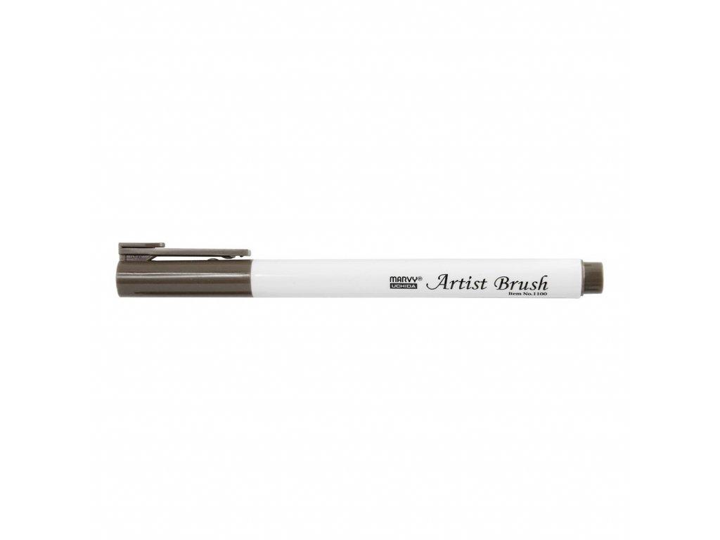 Umělecké fixy se štětcovým hrotem Artist Brush - 45 Sepia