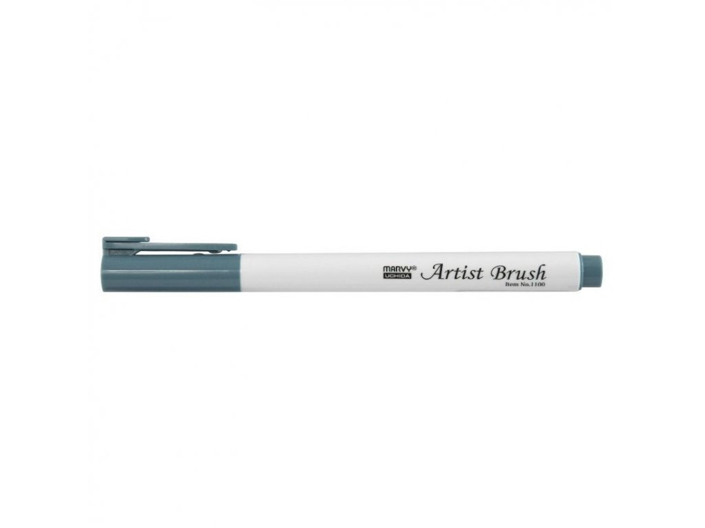 Artists brush marvy uchida 1100 dull blue