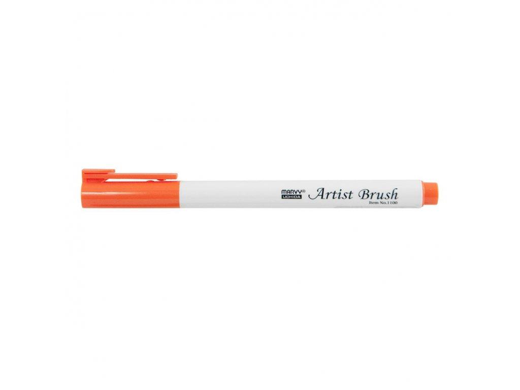 Umělecké fixy se štětcovým hrotem Artist Brush- 07 Orange