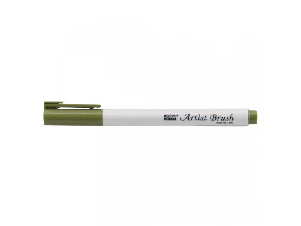 Umělecké fixy se štětcovým hrotem Artist Brush - 96 Jungle Green