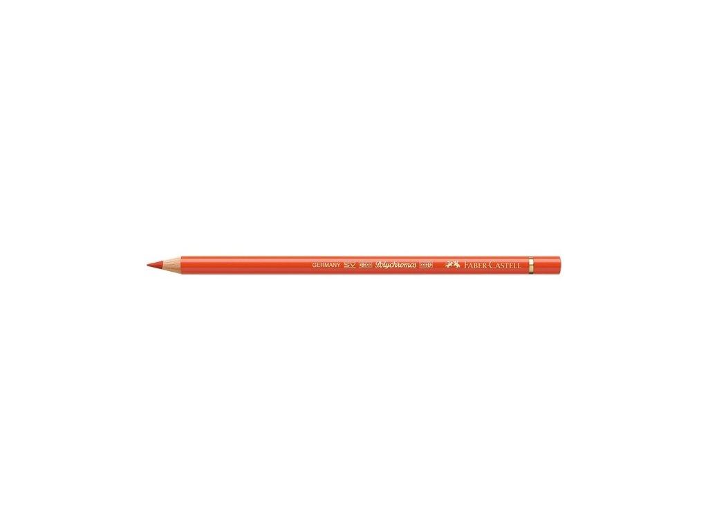 2120 2 faber castell polychromos umelecka pastelka 115 dark cadmium orange