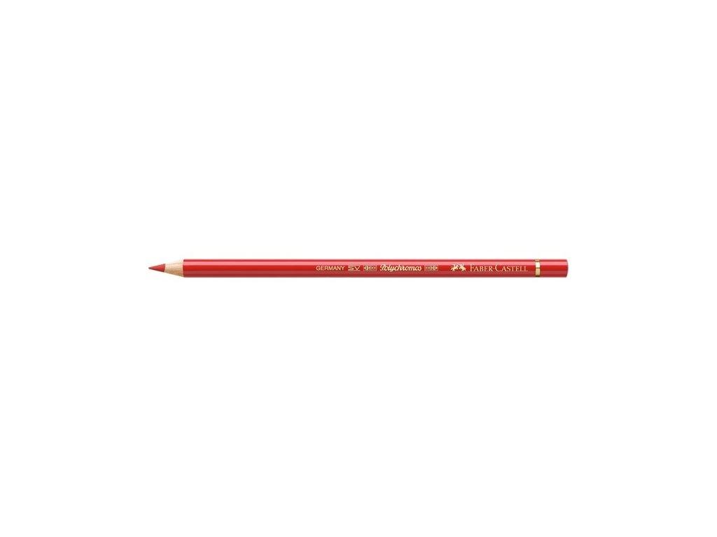 2123 2 faber castell polychromos umelecka pastelka 118 scarlet red