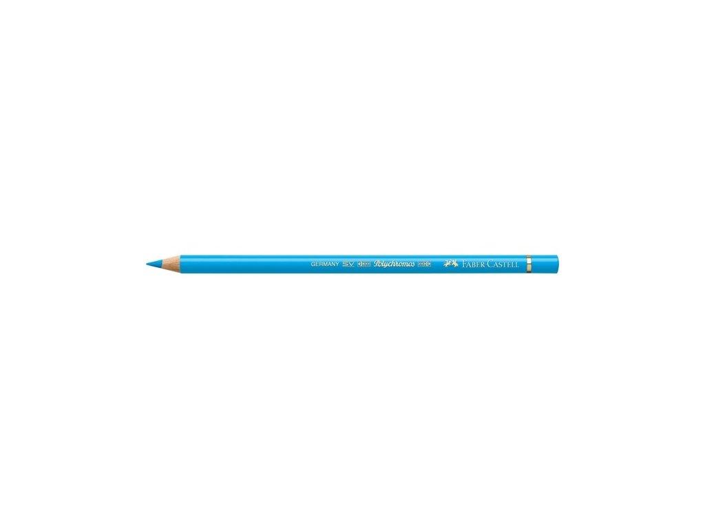 2174 2 faber castell polychromos umelecka pastelka 145 light phtalo blue
