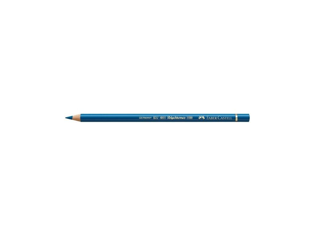2180 2 faber castell polychromos umelecka pastelka 149 bluish turquoise