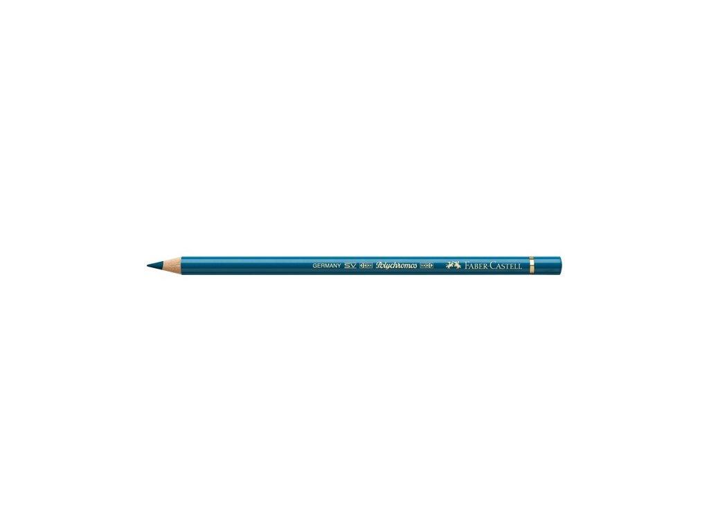 2189 2 faber castell polychromos umelecka pastelka 155 cobalt turquise