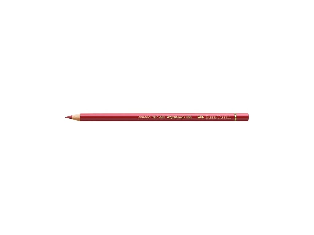 2261 2 faber castell polychromos umelecka pastelka 217 middle cadmium red