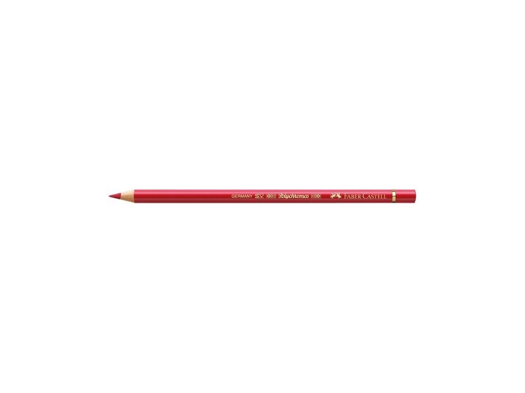 2264 2 faber castell polychromos umelecka pastelka 219 deep scarlet red